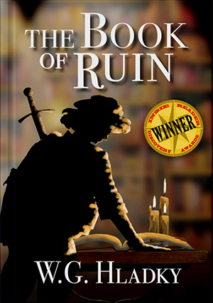 Award Winning Book Of Ruin Cover Shop image