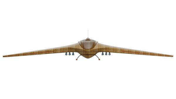 RangerKnight triple hawk skimmer front view